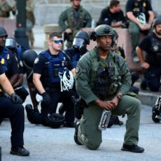 Police bow to rioters in democratic states