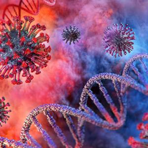 Coronavirus-Covid-19-DNA